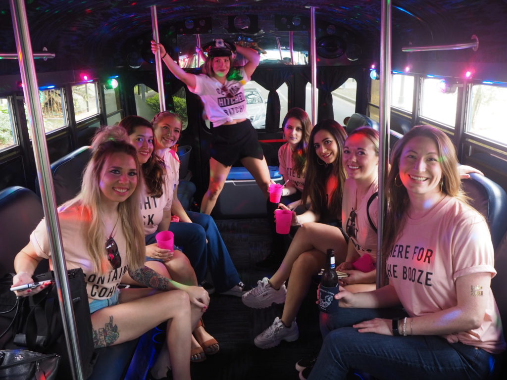 Bachelorette party services